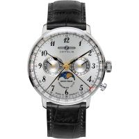 Mens Zeppelin Hindenburg Moonphase Watch
