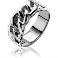 Ladies Zinzi Sterling Silver Ring Size N ZIR1056-54