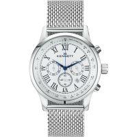 Herren Kennett Savro Milanaise-Geflecht  Chronograf Uhr