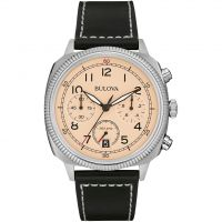 Mens Bulova Military UHF Chronograph Watch