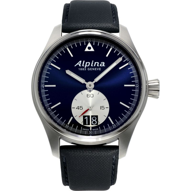 Herren Alpina Startimer Pilot Big Date Watch AL-280NS4S6
