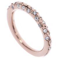 femme Karen Millen Jewellery Crystal Sprinkle Ring Small Watch KMJ607-24-02S