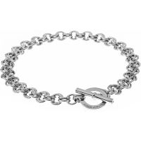 Karen Millen Jewellery Encrusted Bar & Hoop Bracelet JEWEL