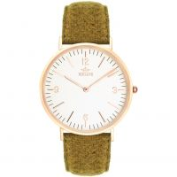 Birline Northfleet Rose Gold Unisexklocka Grön BIR001108