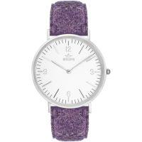 Unisex Birline Woodley Silber Uhr
