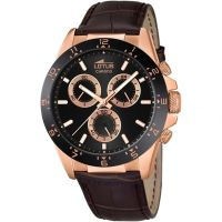Herren Lotus Chronograph Watch L18158/4