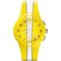 Mens Swatch Chronoplastic - Amorgos Chronograph Watch