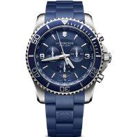 Herren Victorinox Schweizer Militär neu Maverick Chronograf Uhr