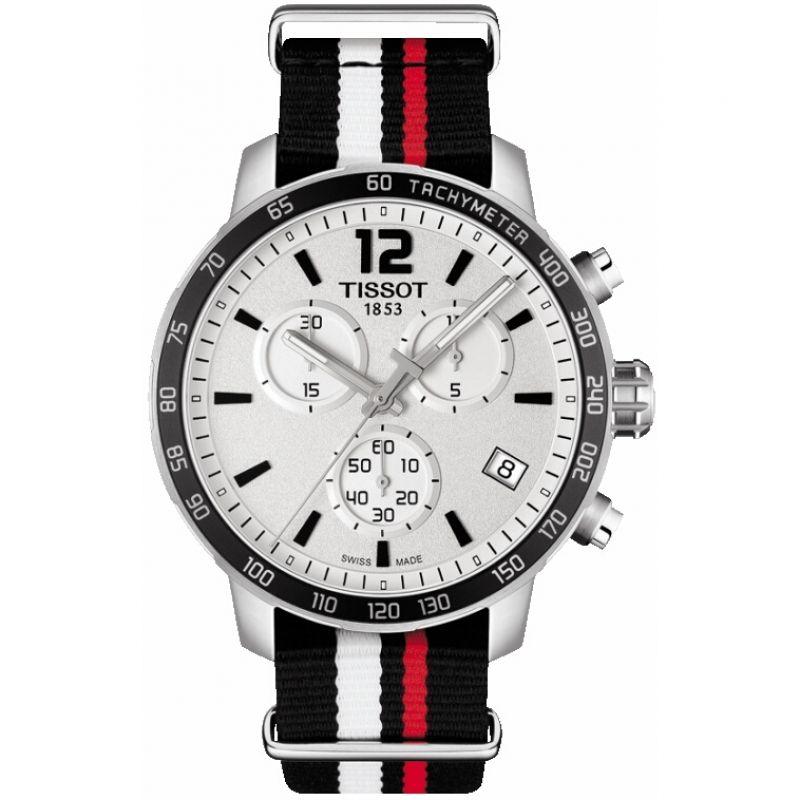 Herren Tissot Quickster Chronograph Watch T0954171703701