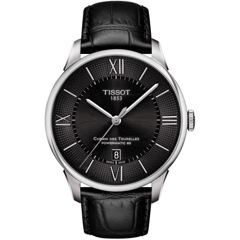 Mens Tissot Chemin Des Tourelles Automatic Watch T0994071605800