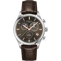 Herren Certina DS-8 Precidrive Moonphase Chronograph Watch C0334501608100