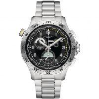 Herren Hamilton Khaki Pilot Worldtimer Chronograph Watch H76714135