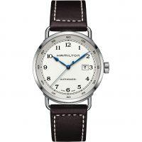 Mens Hamilton Khaki Navy Pioneer Automatic Watch