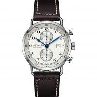 Mens Hamilton Khaki Navy Pioneer Automatic Chronograph Watch