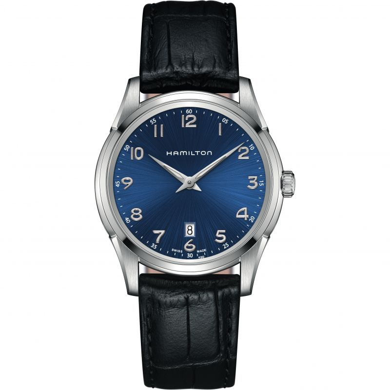 homme Hamilton Jazzmaster Thinline Watch H38511743