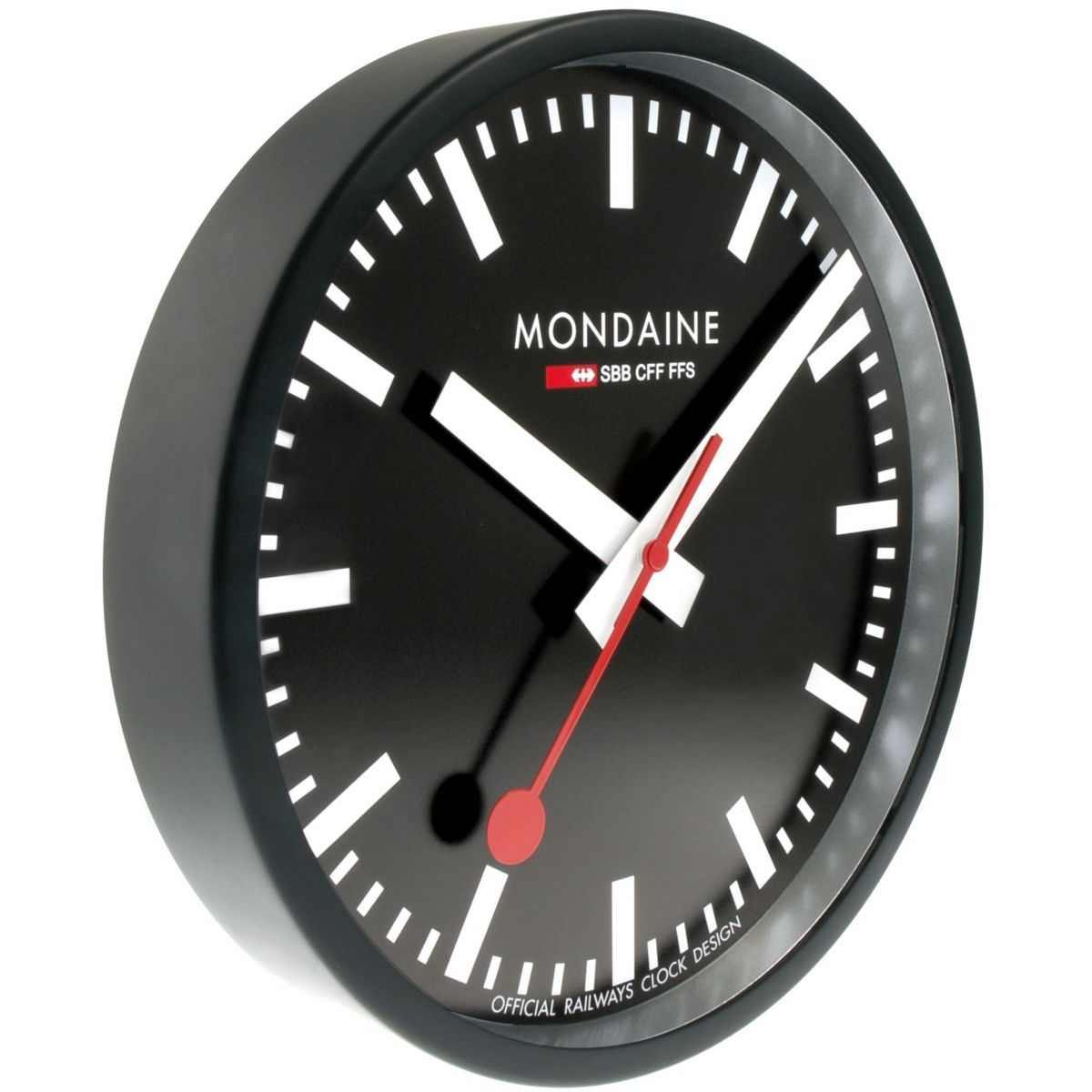 Clock Mondaine Swiss Railways Wall Clock Watch A990 Clock