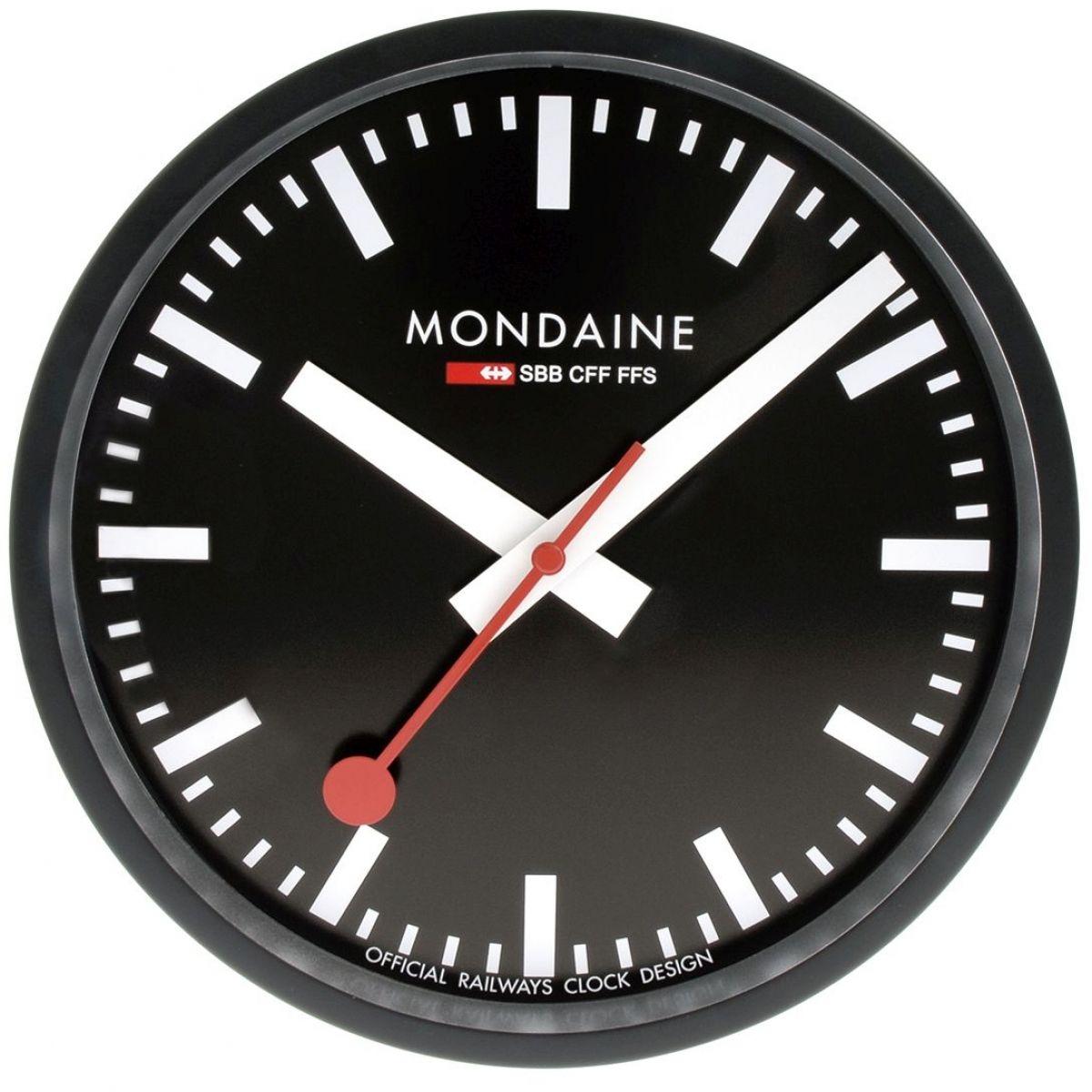 Wanduhr Mondaine Schweizer Railways Wall Uhr Uhren A990