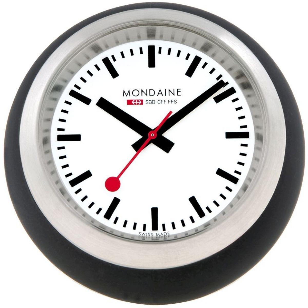 horloge mondaine suisse railways bureau horloge montre a6603033516sbb. Black Bedroom Furniture Sets. Home Design Ideas