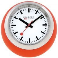 Zegarek zegar Mondaine Swiss Railways Desk Clock A6603033516SBC