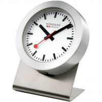 Zegarek zegar Mondaine Swiss Railways Magnetic Desk Clock A6603031881SBB