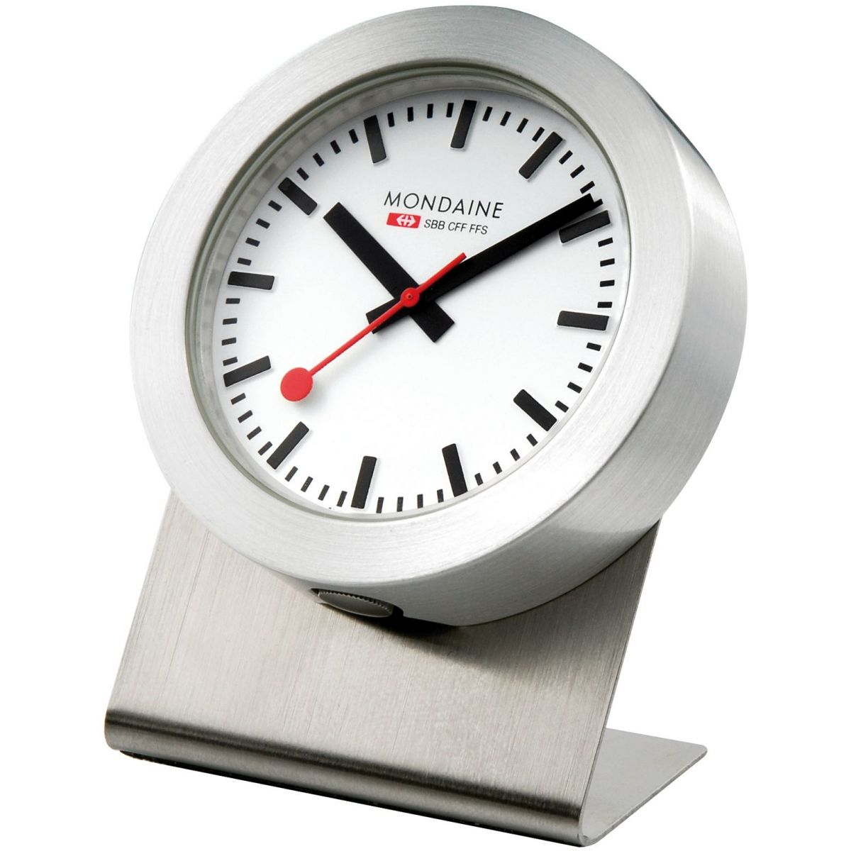 mondaine suisse railways magn tique bureau horloge. Black Bedroom Furniture Sets. Home Design Ideas