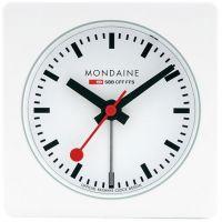 Mondaine Schweizer Railways Würfel Wecker Uhr
