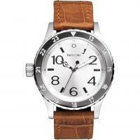 Mens Nixon The 38-20 Leather Watch