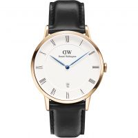 Herren Daniel Wellington Dapper 38mm Sheffield Rose Watch DW00100084