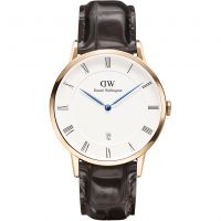 Mens Daniel Wellington Dapper 38mm York Rose Watch