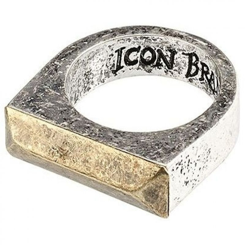 Icon Brand Size V Fix Up Ring P884-R-SIL-M/L