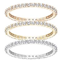 femme Swarovski Jewellery Vittorie Stack Ring 58 Watch 5184653