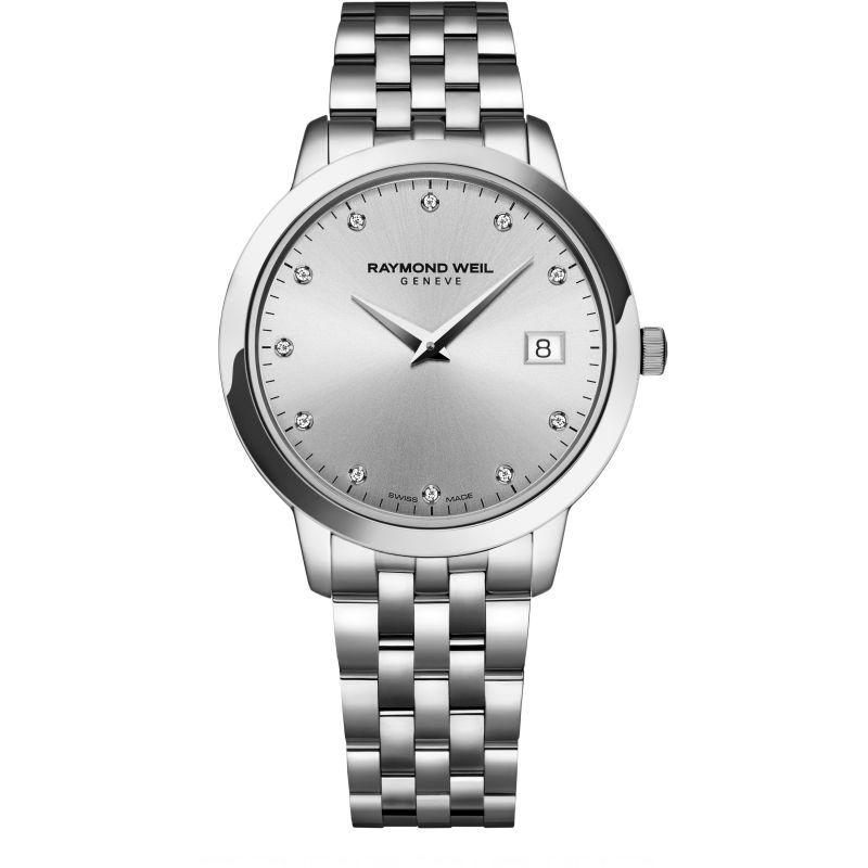Damen Raymond Weil Toccata Diamond Watch 5388-ST-65081