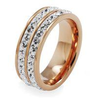Damen Folli Follie Größe P klassisch Ring