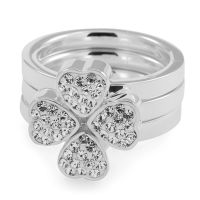 Folli Follie Jewellery Hrt 4 Hrt Ring JEWEL