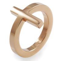 Ladies Folli Follie PVD rose plating Size N.5 Karma Ring 5045.4963