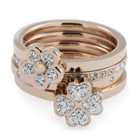 Ladies Folli Follie Size P Winter Wonder Ring
