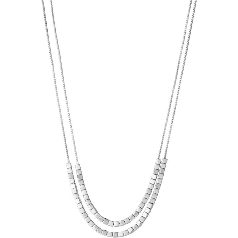 Ladies Links Of London Sterling Silver Cubist Necklace 5020.2702