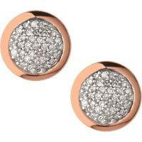 Damen Verbindungen Of London Sterlingsilber Diamant Essential Ohrring