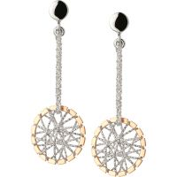 Damen Verbindungen Of London Sterlingsilber Dream Catcher Ohrring