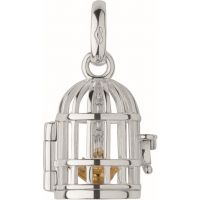 femme Links Of London Jewellery Keepsakes Birdcage Ss&Gp Chm Charm Watch 5030.1812
