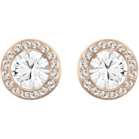 Ladies Swarovski PVD rose plating Angelic Earrings