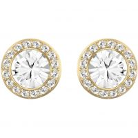 Swarovski Dames Angelic Earrings PVD verguld Goud 1081941