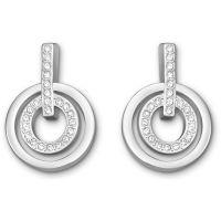 femme Swarovski Jewellery Circle Earrings Watch 5007750
