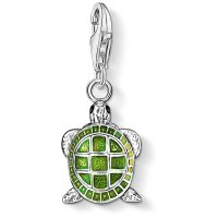 Ladies Thomas Sabo Sterling Silver Charm Club Turtle Charm