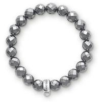 Ladies Thomas Sabo Sterling Silver Charm Club Charm Bracelet X0187-064-11-S