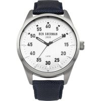 Ben Sherman London Carnaby Outdoor Herrklocka Blå WB031U