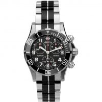 Damen Michel Herbelin Newport Trophy Chronograph Watch 34596/N04BN
