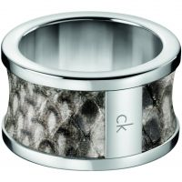 Damen Calvin Klein Edelstahl Größe S Spellbound Ring