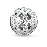 femme Thomas Sabo Jewellery Karma Beads - Hearts Bead Watch K0006-001-12