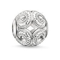femme Thomas Sabo Jewellery Karma Beads - Wave Bead Watch K0017-001-12
